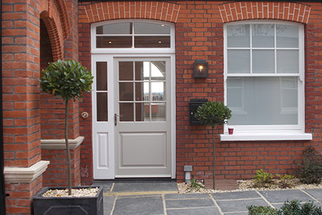 Double Glazed Exterior Door