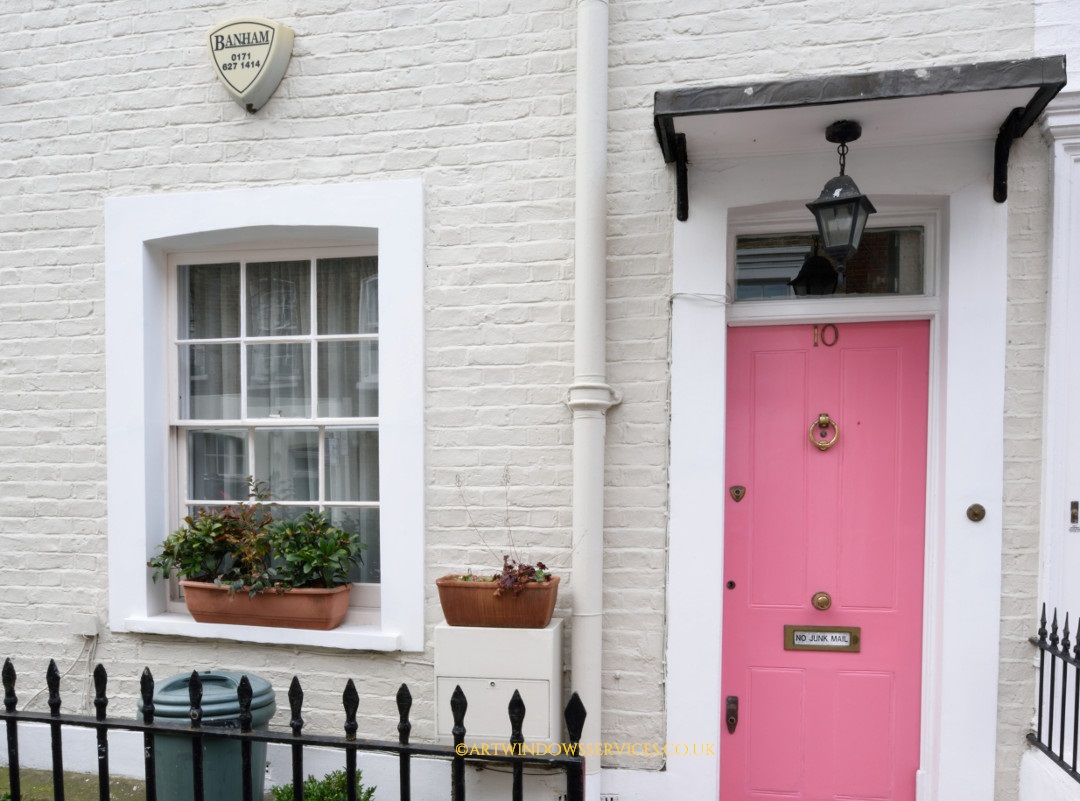 Pink entry door timber doors timber windows