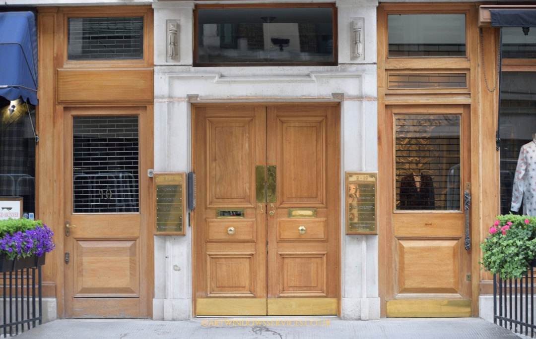 Savile Row Timber Entry Door
