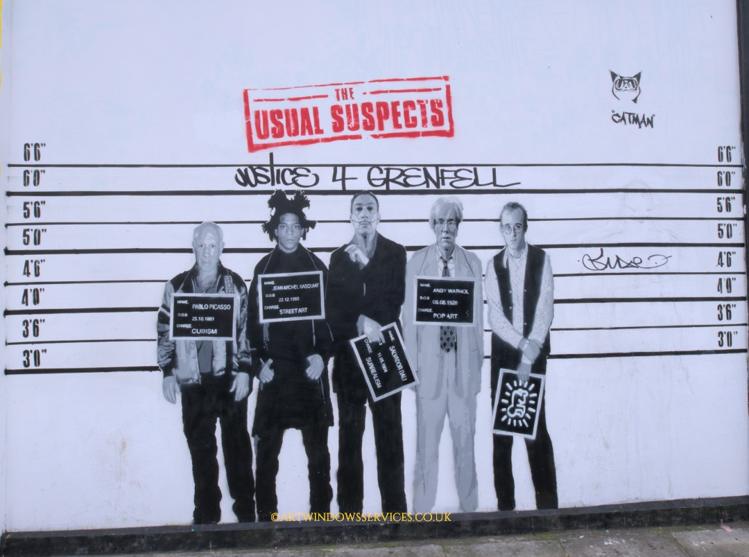 The usual suspects poster at Notting Hill