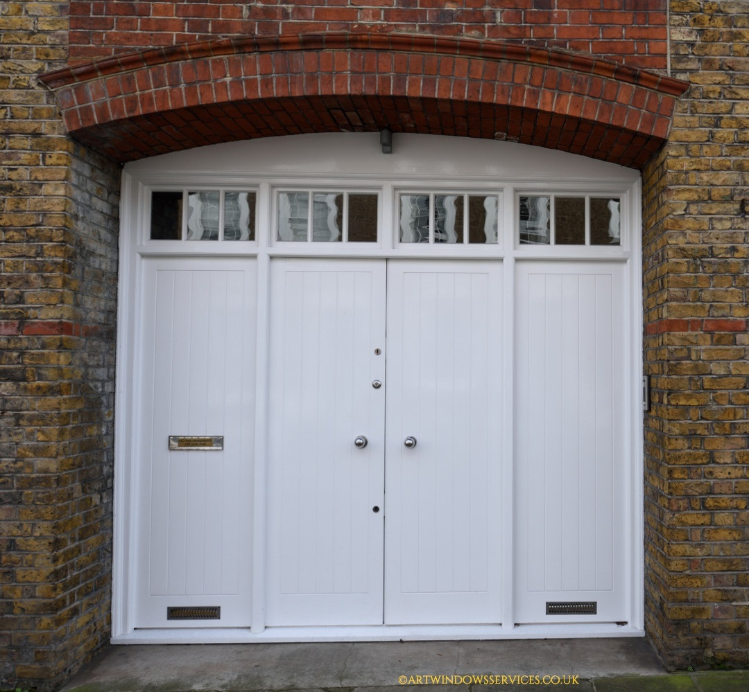 White Timber Doors